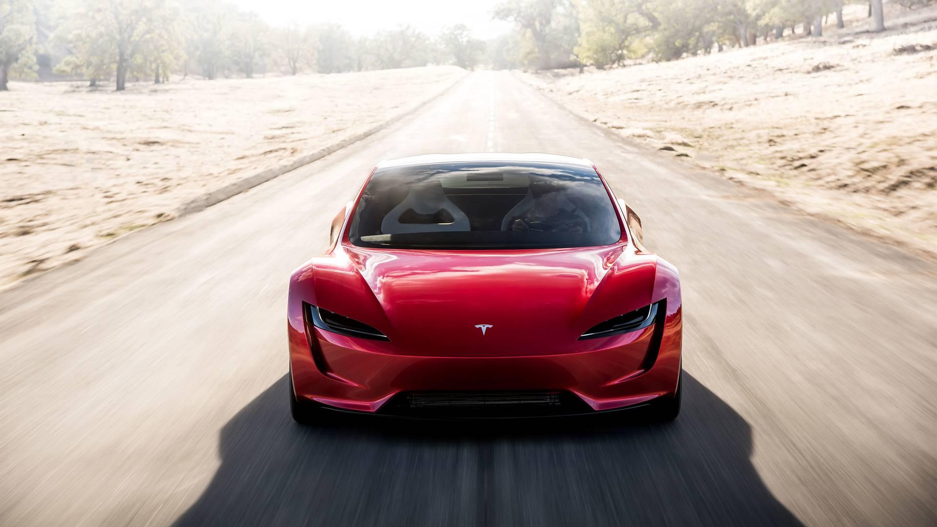 Представлена тарга Tesla Roadster савтономным пробегом 1 000 км— Сюрприз