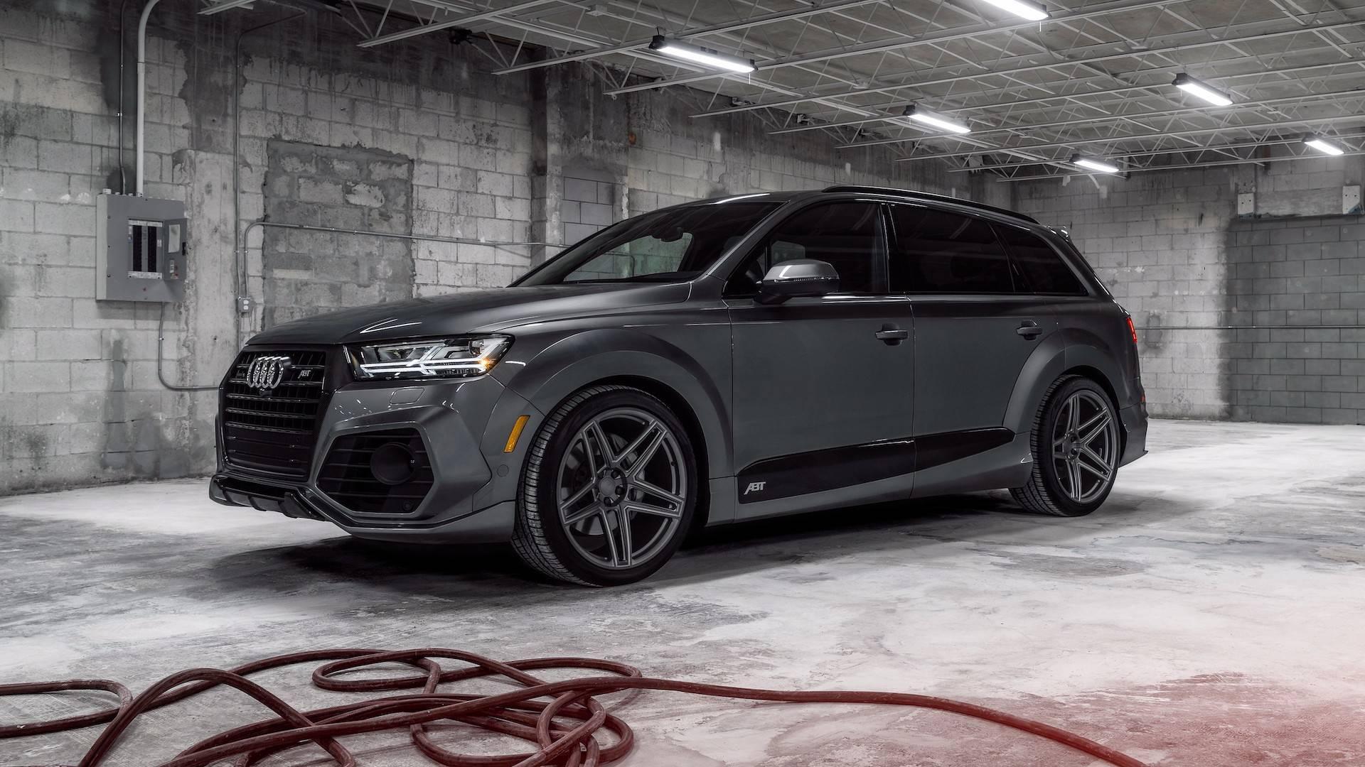 Кисть мастера. Audi Q7 в исполнении ABT и Vossen