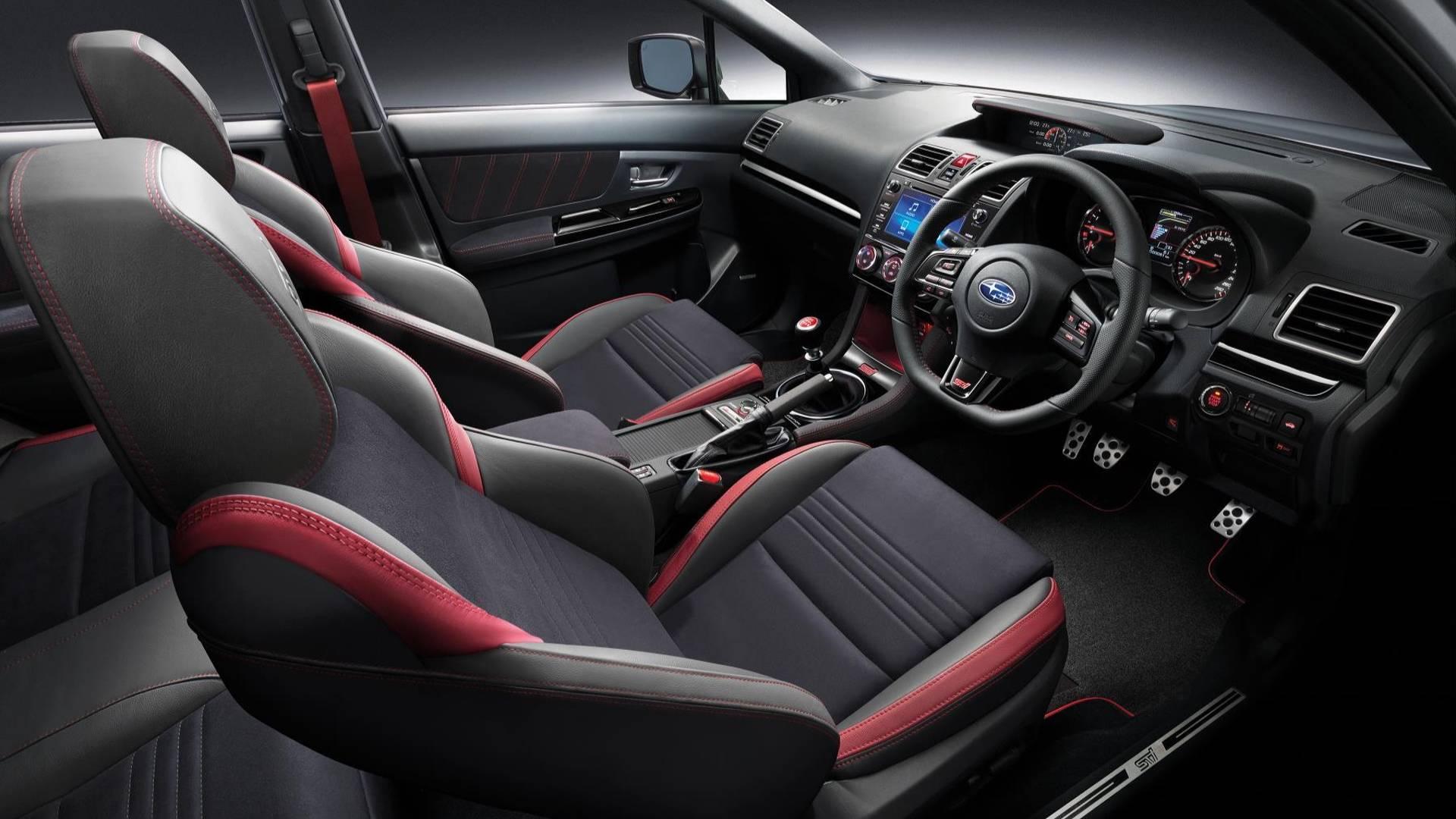 Субару выпустила прощальную версию седана WRX STi
