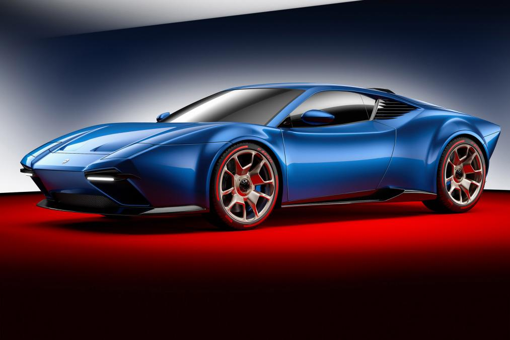 Итальянская Ares Design презентовала суперкар Ares Panther