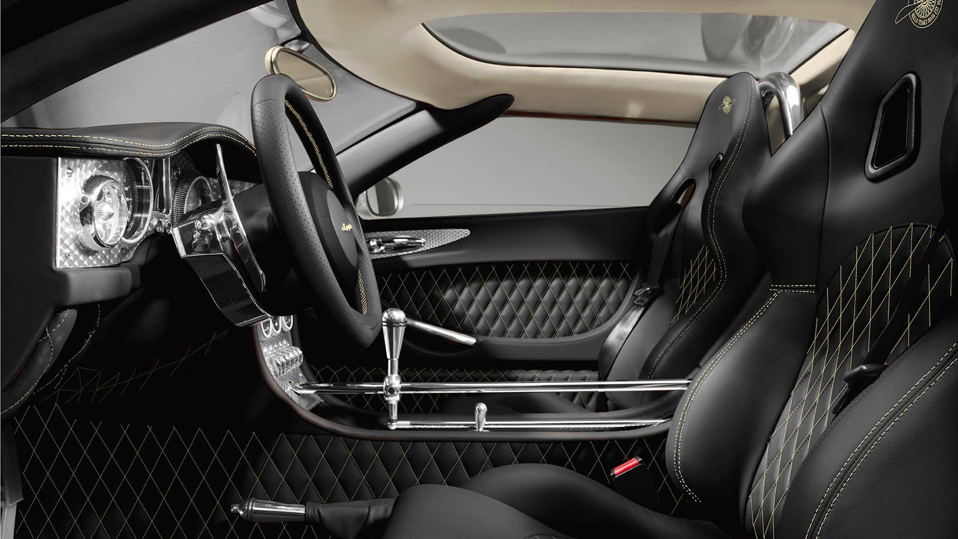 Spyker продемонстрировал прощальные C8 Aileron